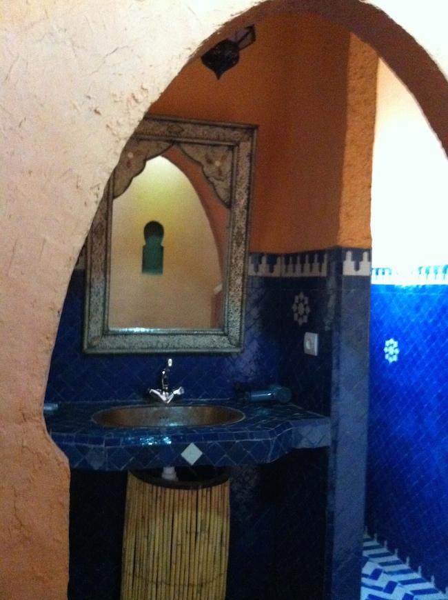 メルズーガ Kasbah Mohayut バスルーム