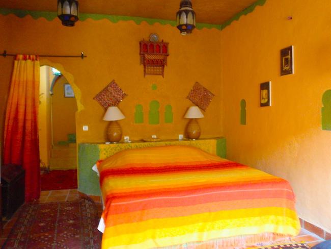 メルズーガ Kasbah Mohayut ベッドルーム1