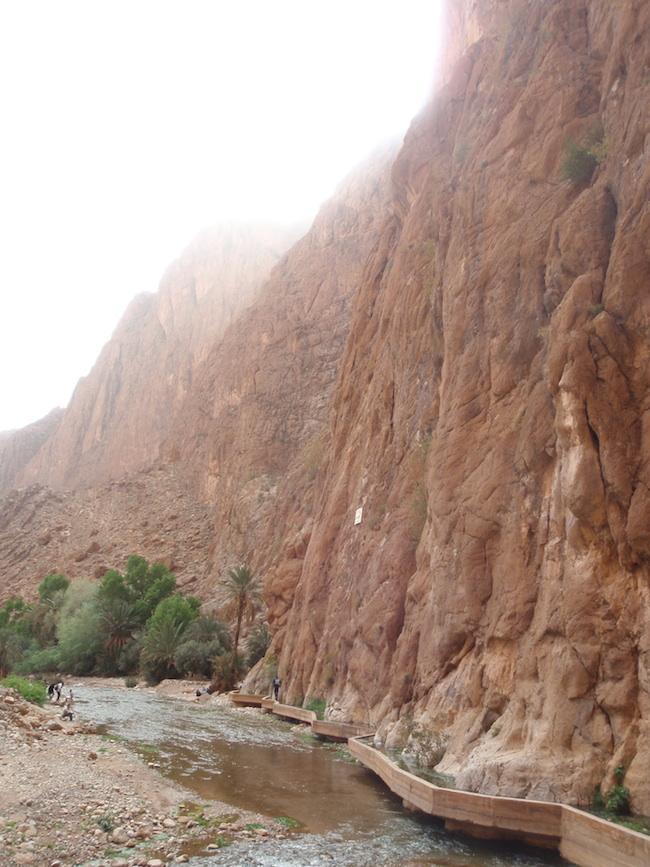 トドラ峡谷 川