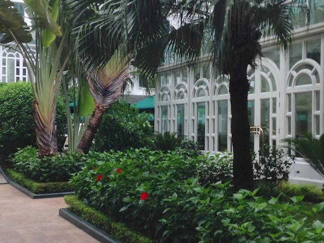ソフィテルレジェンドメトロポール ガーデン