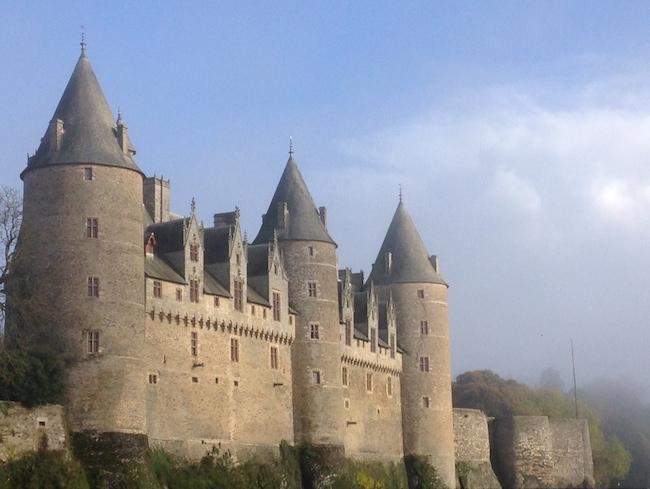 フランス ブルターニュ ジョスラン城