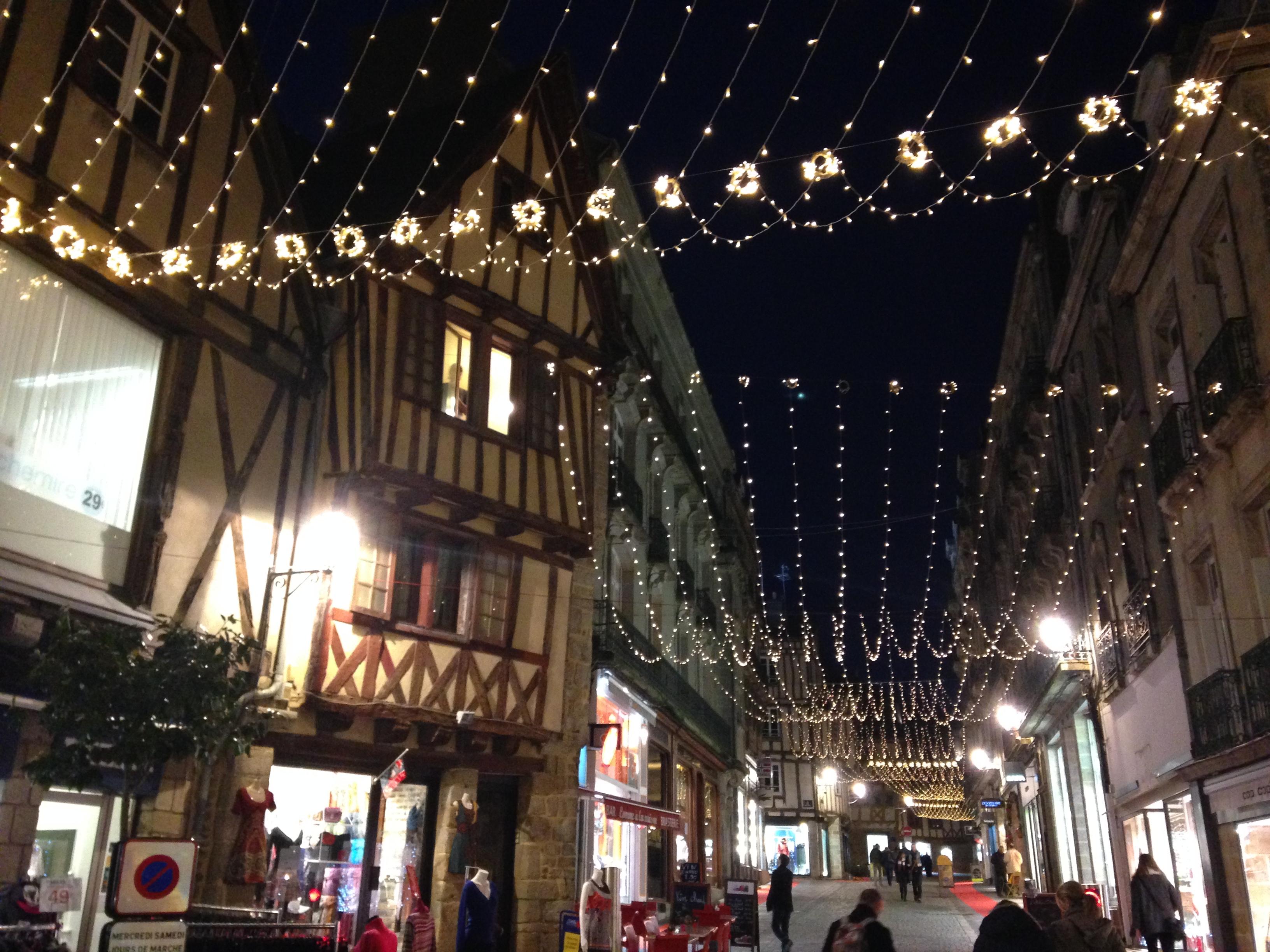 フランス ブルターニュ クリスマス
