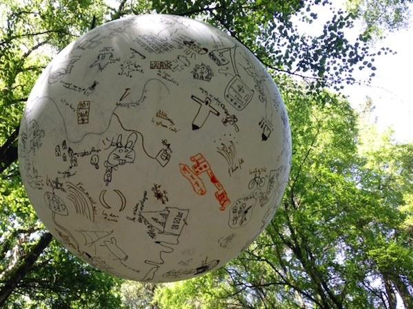 フランス 子供たちの森のアート