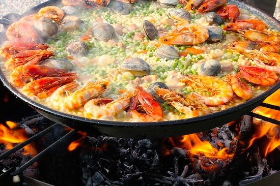 スペインパエリア発祥地発!具と種類とフライパン簡単レシピの作り方