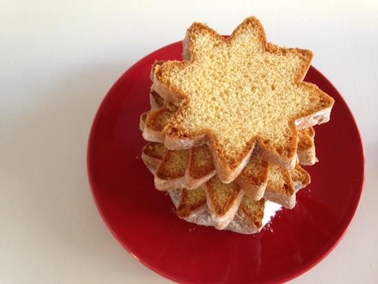 イタリアのクリスマスケーキ、パンドーロとは?超お洒落な食べ方は?