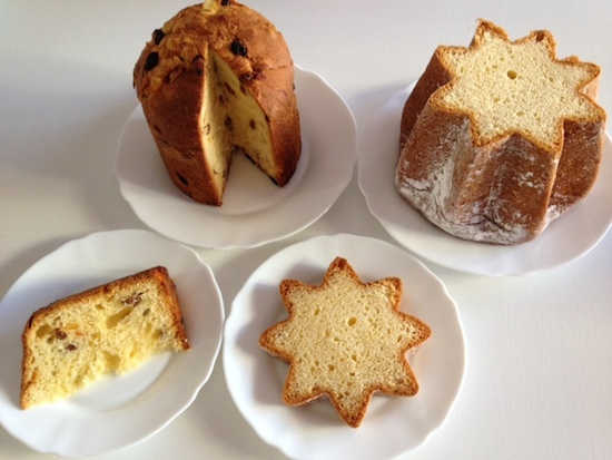 イタリアのクリスマスケーキパン、パネトーネとパンドーロの違い!