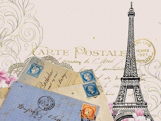 フランスのビンテージ絵葉書の家族愛溢るメッセージにほろっ!