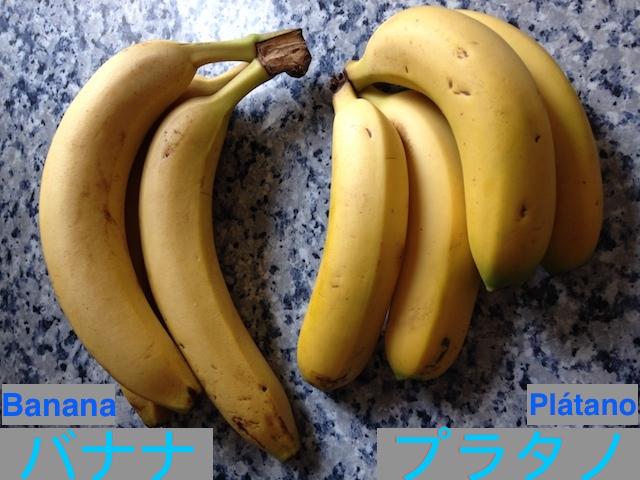 プラタノとバナナの違いと歴史!海外でマグロとカツオがTUNAなのと同じ