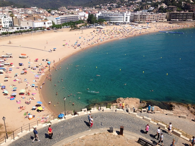 トッサデマールで地中海の休日①街の様子編|コスタブラバ@スペイン