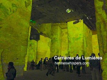 まるで異次元!南仏採石場の美術館キャリエール・ド・リュミエールで超体感